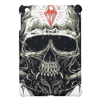 Horned Devil Skull iPad Mini Case