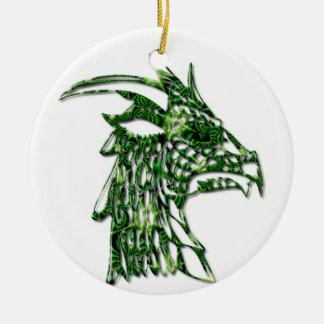 Horned Dragon Ornament