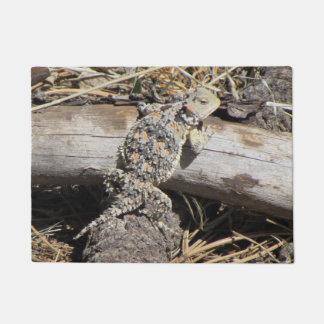 Horned Lizard Doormat