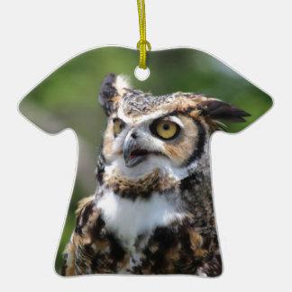 Horned Owl Christmas Ornament