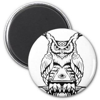 horned owl flash magnet