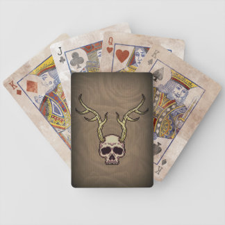 Horned Skull Bicycle® Poker Playing Cards