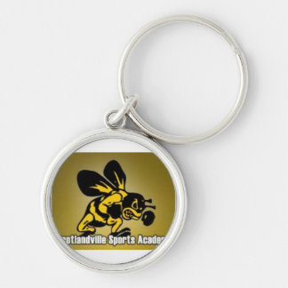 hornet 1 Silver-Colored round key ring