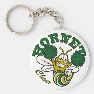 Hornet Cheer Keychain