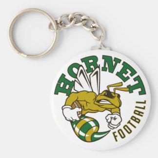 Hornet Football Keychain
