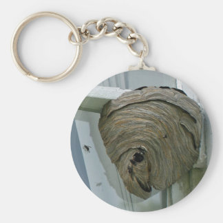 Hornets Nest Basic Round Button Key Ring