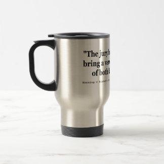 Horning v District of Columbia 254 U.S. 135 (1920) Stainless Steel Travel Mug