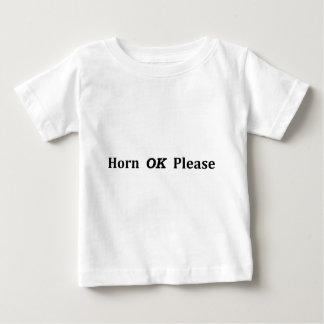 HornOkPlease Baby T-Shirt