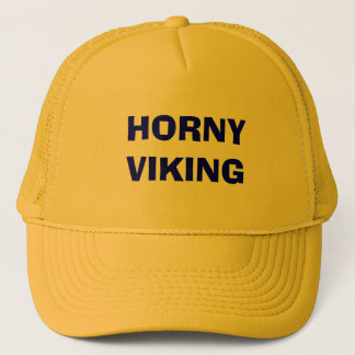 HORNY VIKING TRUCKER HAT