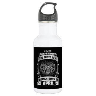 Horoscope April 532 Ml Water Bottle