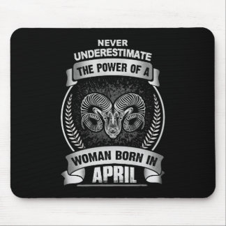 Horoscope April Mouse Pad