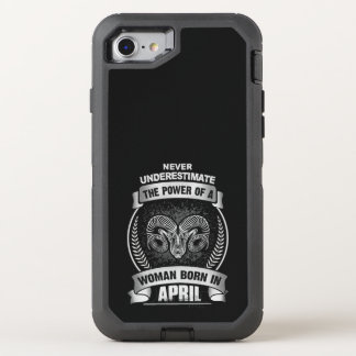 Horoscope April OtterBox Defender iPhone 8/7 Case