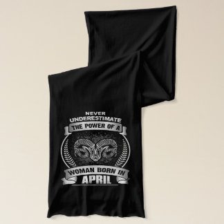 Horoscope April Scarf