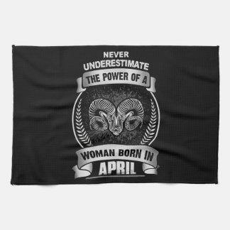 Horoscope April Tea Towel