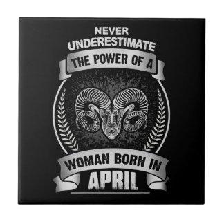 Horoscope April Tile