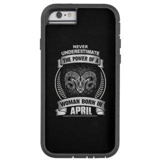 Horoscope April Tough Xtreme iPhone 6 Case