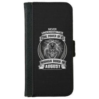 Horoscope August iPhone 6 Wallet Case