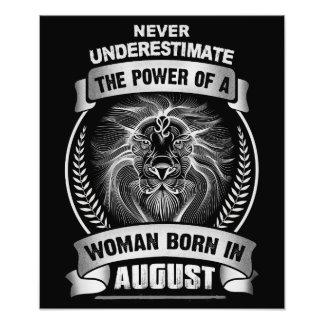 Horoscope August Photo Print