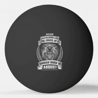 Horoscope August Ping Pong Ball