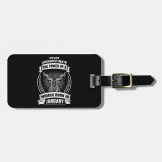 Horoscope January Luggage Tag