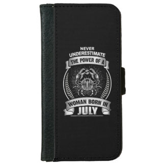 Horoscope July iPhone 6 Wallet Case