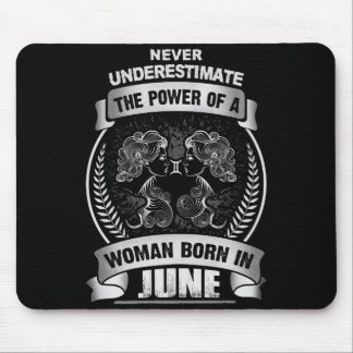 Horoscope June Mouse Pad