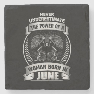Horoscope June Stone Coaster