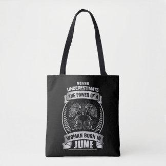 Horoscope June Tote Bag