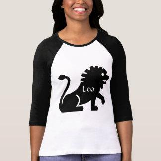 Horoscope Leo Lion Symbol Zodiac Sign Jersey T-Shirt