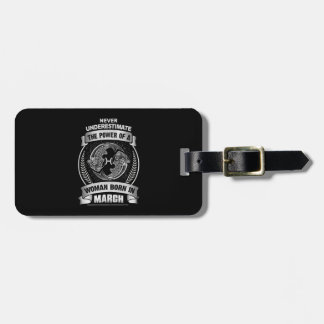 Horoscope March Luggage Tag