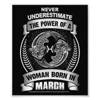 Horoscope March Photo Print