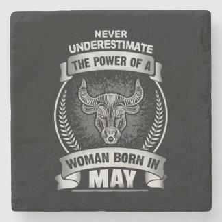 Horoscope May Stone Coaster