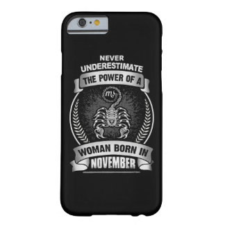 Horoscope November Barely There iPhone 6 Case