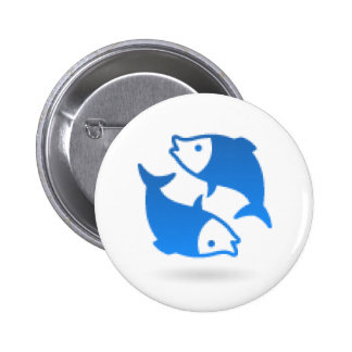 HOROSCOPE PISCES PINBACK BUTTONS