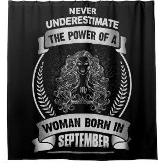 Horoscope September Shower Curtain