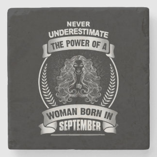 Horoscope September Stone Coaster