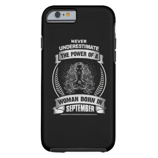 Horoscope September Tough iPhone 6 Case