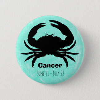 Horoscope Sign for Cancer Zodiac Symbol Button