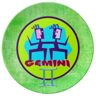 Horoscope Sign Gemini Keepsake Plate