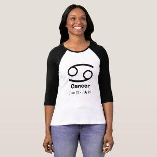 Horoscope Zodiac Astrology Cancer Crab Sign T-Shirt