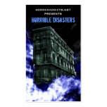 Horrible Disasters Cards Double-Sided Standard Business Cards (Pack Of 100)