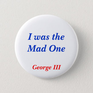 Horrible Histories Mad One 6 Cm Round Badge