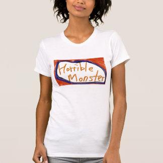 Horrible Monster shirt, woman Tshirts