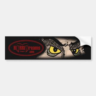 HorriDreams com Bumper Sticker