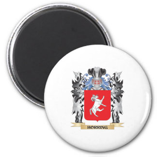 Horring Coat of Arms - Family Crest 6 Cm Round Magnet