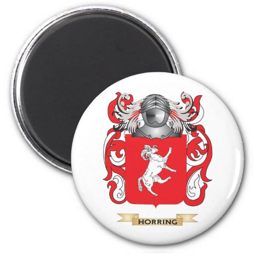 Horring Coat of Arms (Family Crest) Refrigerator Magnets