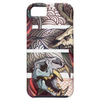 Horror Animal Curse Skeleton Skull iPhone 5 Cover