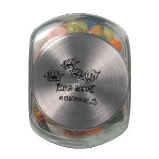 horror candy jar glass jars