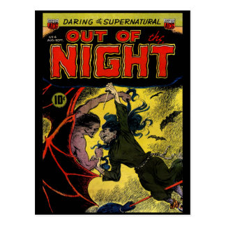 Horror Comic: Out of the Night 4 Postcard