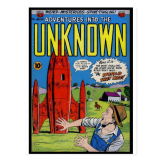 Horror Comics: Into the Unknown 61. Postcard